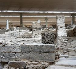 Akrotiri excavations - Santorini