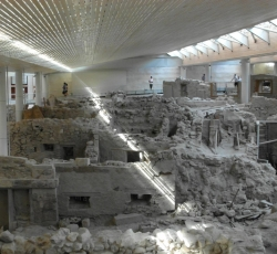 Akrotiri excavations - Santorini