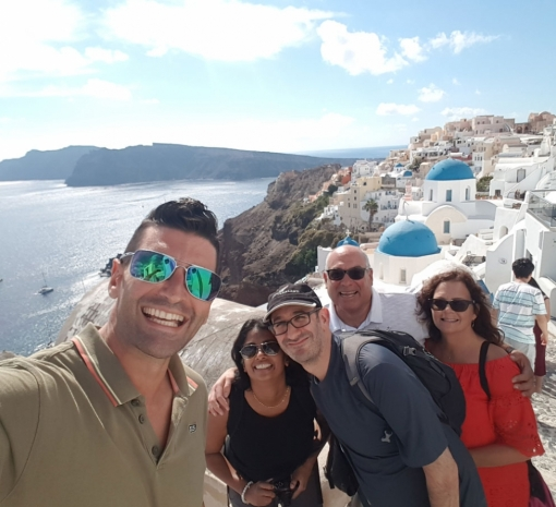 Tour in Santorini