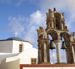 Pyrgos traditional village - Santorini