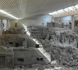 Akrotiri Excavation